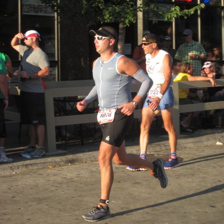 Tyler running