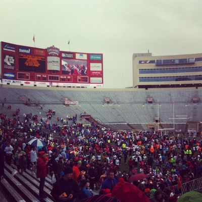 Camp randall finish