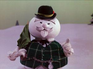 Burl ives snowman